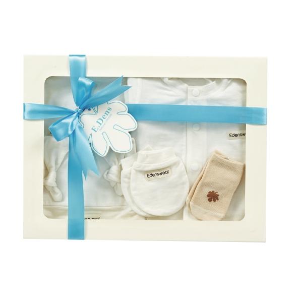 Edenswear鋅健康抗敏系列-新生兒禮盒,給寶寶最舒適的衣物!