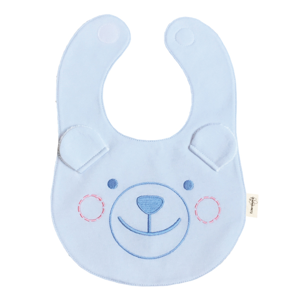 鋅健康嬰兒抗菌圍兜,不含化學成分,抗菌防霉,除臭抑味,舒適透氣,防曬抗UV
