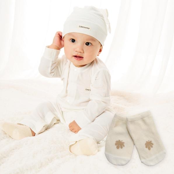 鋅健康抗菌嬰兒襪,不含化學成分,抗菌防霉,除臭抑味,舒適透氣,防曬抗UV