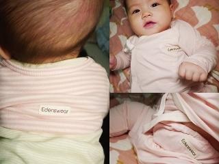 Edenswear伊登詩防抓袖套背心~給敏感型肌膚寶寶更多防護~