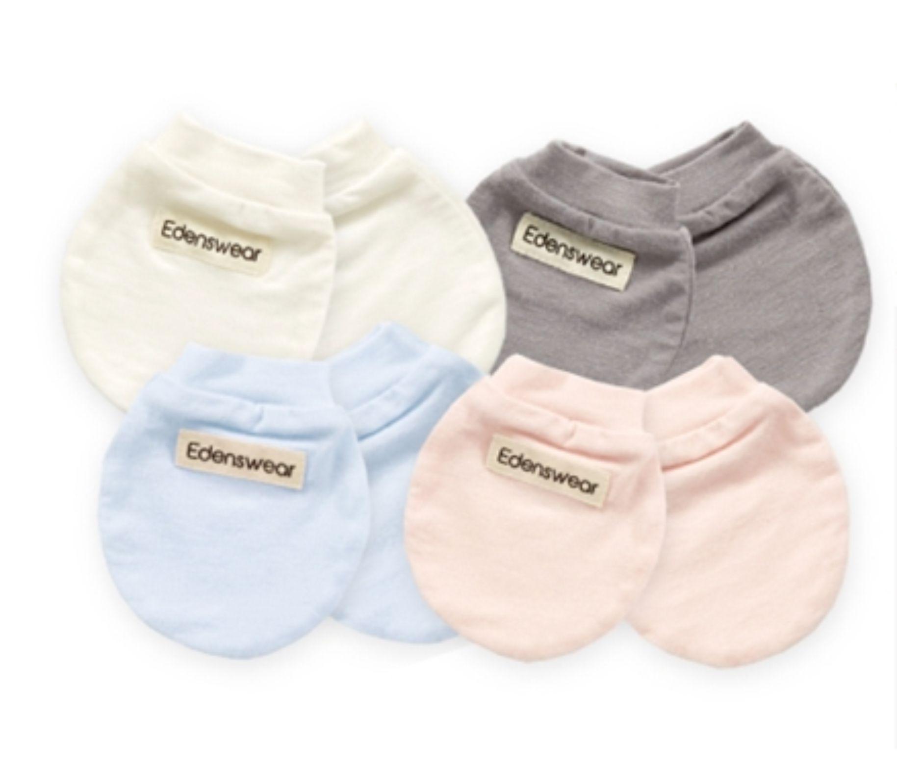 鋅健康嬰兒防抓手套,不含化學成分,抗菌防霉,除臭抑味,舒適透氣,防曬抗UV